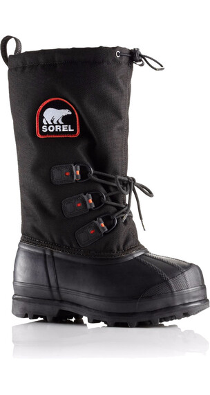 Sorel W's Glacier XT Black/Red Quartz
